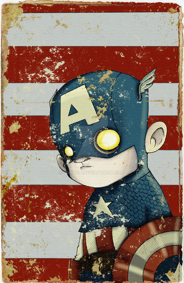 Captain Amercia by UMINGA