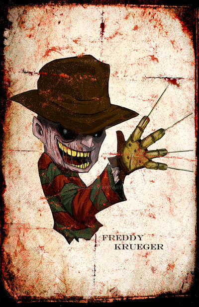 Freddy Krueger by UMINGA