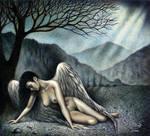Fallen Angel by RezoKaishauri