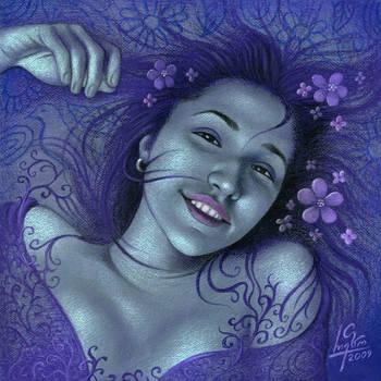The Purple Haze by RezoKaishauri