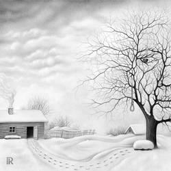 The Face of Winter by RezoKaishauri