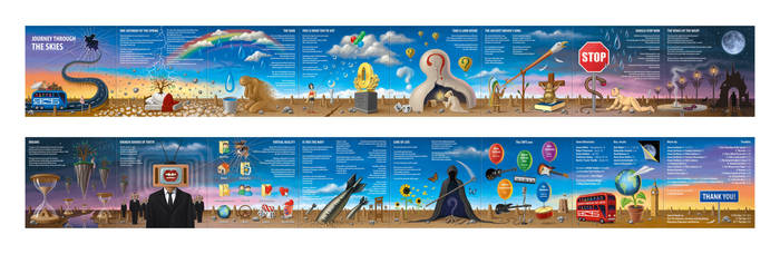 Journey Through the Skies - Booklet