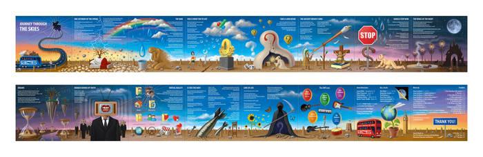 Journey Through the Skies - Booklet by RezoKaishauri