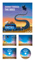 Journey Through the Skies - Cover, Back + CD