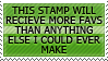 Stamps are fav magnets