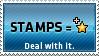 Stamps equals favs