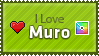 Love Muro Stamp by KillboxGraphics