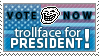 Elect him