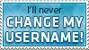 Username is final by KillboxGraphics