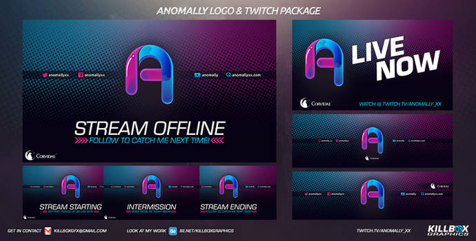 Anomally Twitch Package 2
