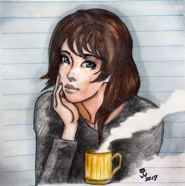 Coffee Break by Kanji-The-Wanderer