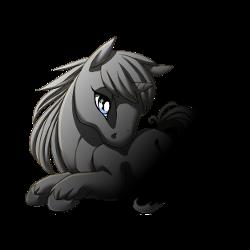 VoU: Moonlit Walk unicorn foal by Lizzyluna