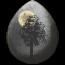 VoU: Moonlit Walk unicorn egg by Lizzyluna