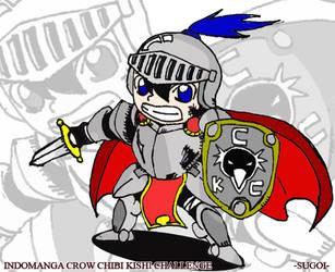 Chibi Knight by sugoiking