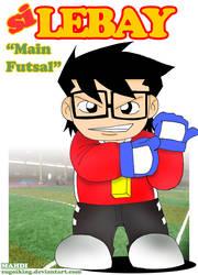 si lebay main futsal cover by sugoiking