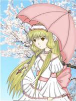 Cherry Blossom Chii by DarkGeisha22