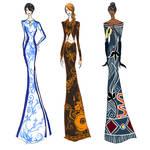 Vase Dresses