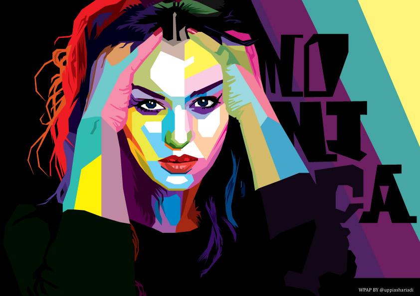 horrible portrait - Monica Bellucci by uppi420