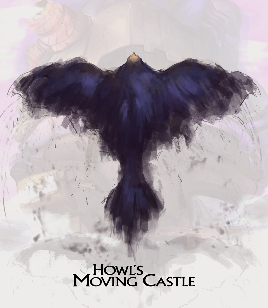 Howl's Moving Castle Poster 2 By PedroCampello On DeviantArt