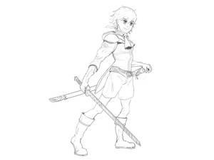 Drakengard 3 Fan Art - Dito by PedroCampello