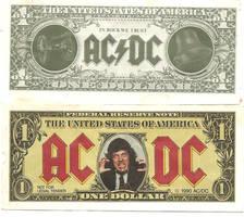 AC DC DOLLARS 1990 by chucksatvs
