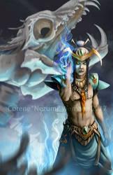 Blue Necromancer