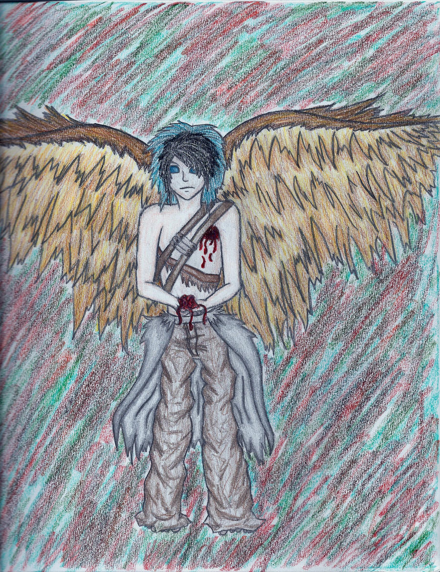 Angel Aideth by PyroRaveHeart71