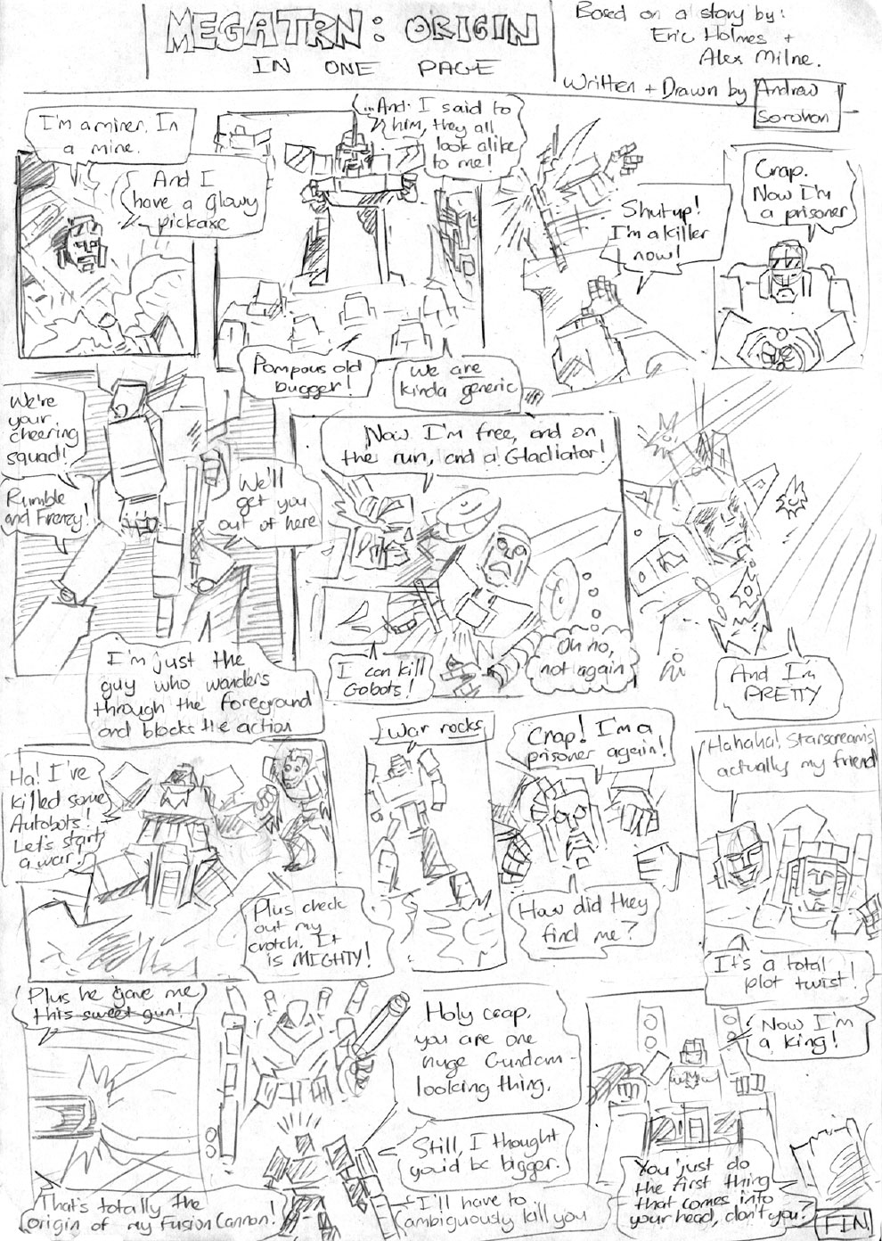 Megatron: Origin in one page