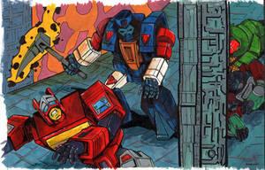 Straxus vs. Blaster by Boltax