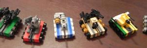 Decepticon Tanks