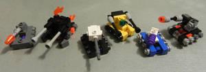 Micro-build Transformers Tanks.