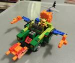 Action Master Sprocket Kre-O Car 03