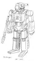 Sunbow-style Gobots: Destroyer