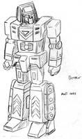 Sunbow-style Gobots: Dozer
