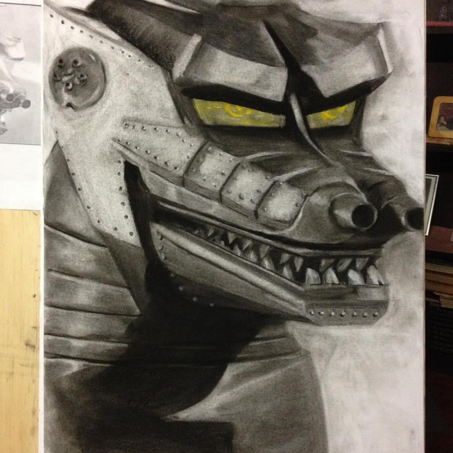 Mecha Godzilla by Boltax