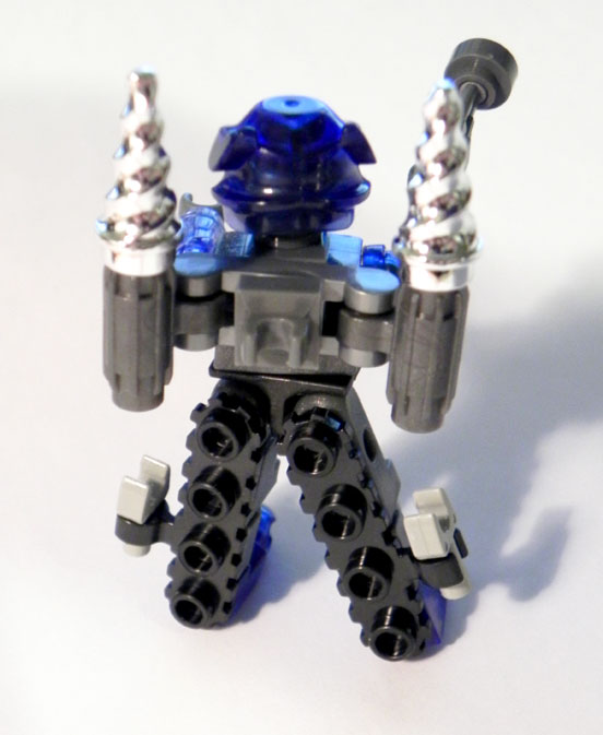 Playing with custom Kre-O Galvatron 002 by Boltax