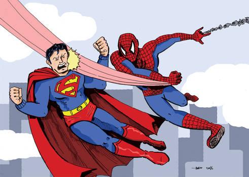 Spider-Man v Superman