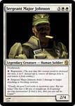 Sergeant Major Johnson