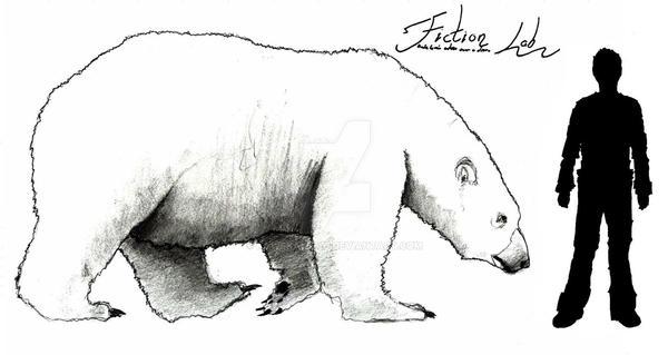 Ursus maritimus tyrannus Scale by Kawekaweau