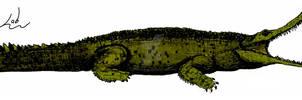 Sarcosuchus imperator Scale