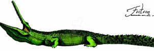 Stomatosuchus inermis Scale