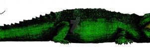 Purussaurus brasiliensis Scale