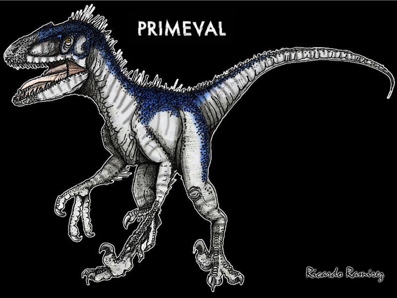 Primeval - Deinonychus by Kawekaweau