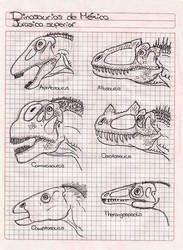 Dinosaurios de Mexico 2