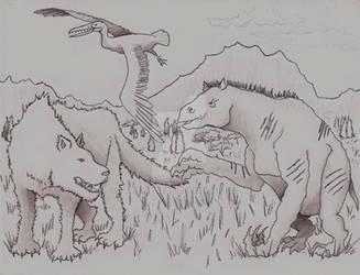 Un Atardecer en el Mioceno