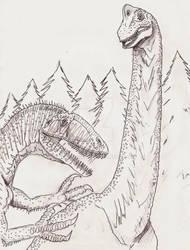 Brachiosaurio X