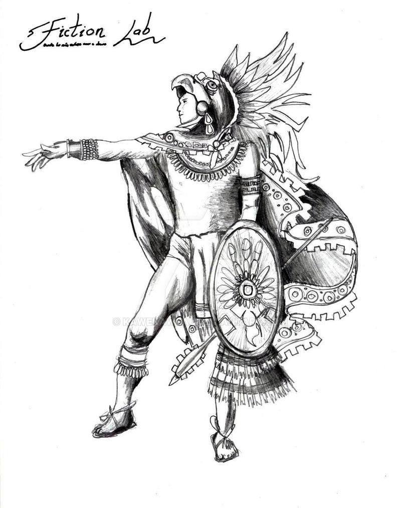 viva mexico eagle warrior by kawekaweau on deviantart