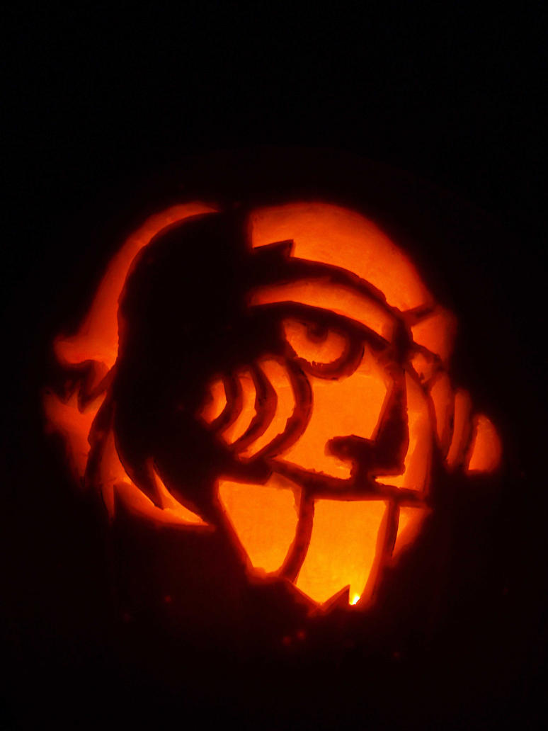 Saw pumpkin by parasoph on deviantart
