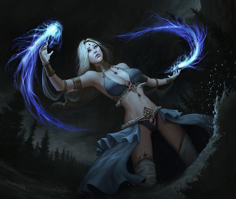 Ylara Enchantress by chazillah