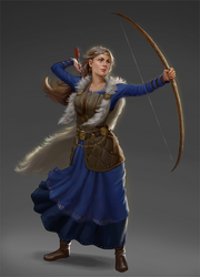 Asfrid by chazillah